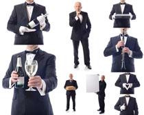 西装国外男人摄影高清图片