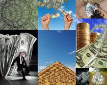 货币金币金融商务摄影高清图片