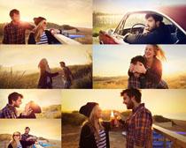 浪漫甜蜜情侣摄影高清图片