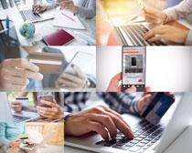 笔记本手机办公摄影高清图片