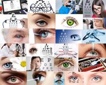 近视眼镜人物摄影高清图片