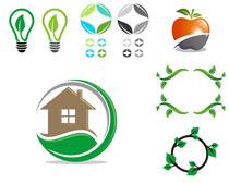 环保标志摄影高清图片