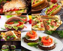 早餐面包食物摄影高清图片