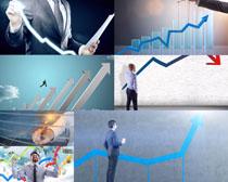箭头与商务人士拍摄高清图片