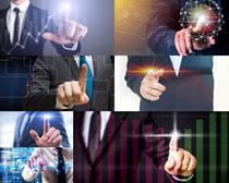 商务手指男人摄影高清图片