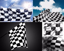 裁判旗帜摄影高清图片