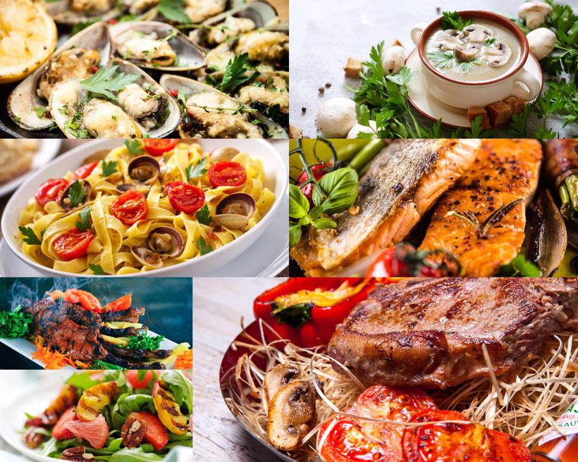 国外食物海鲜摄影高清图片
