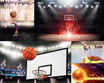 篮球比赛场地摄影高清图片