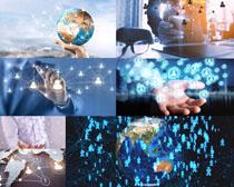 地球商务科技摄影高清图片