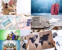 行李旅行装备摄影高清图片