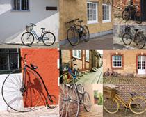 各式自行车摄影高清图片