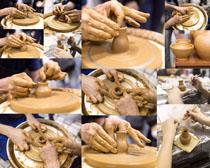陶瓷制作藝術攝影高清圖片
