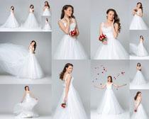 婚纱欧美美女摄影高清图片