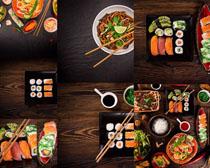 日本寿司美食拍摄高清图片