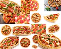 披萨展示食物拍摄高清图片
