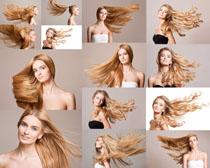 欧美美女金色头发摄影高清图片