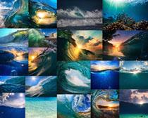 大海波浪摄影高清图片