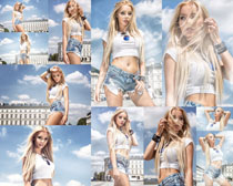 欧美时尚美女拍摄高清图片