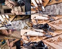 木雕工具摄影高清图片