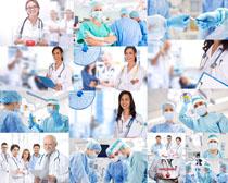 国外工作的医生摄影高清图片