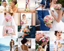 国外婚礼男女摄影高清图片