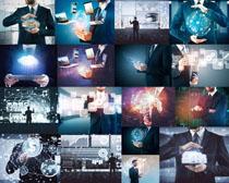 科技与男士摄影高清图片