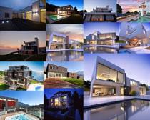 別墅場景建筑攝影高清圖片