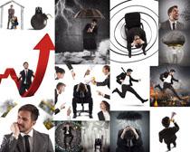 商务男人兴奋摄影高清图片