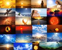阳光风景摄影高清图片
