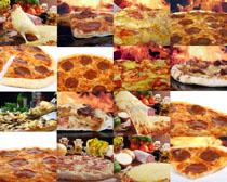 披萨饼食物摄影高清图片