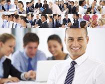 团队商务精神人士摄影高清图片