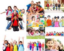 开心国外小学生拍摄高清图片
