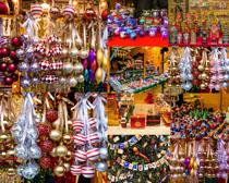 圣诞节装饰物摄影高清图片