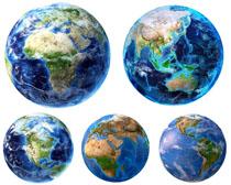 地球展示摄影高清图片