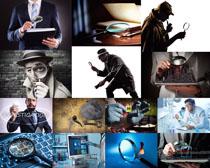 间谍人物摄影高清图片
