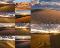 沙滩自然风光摄影高清图片