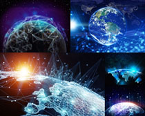 星球太空摄影高清图片