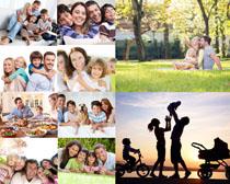 快乐家庭人物摄影高清图片