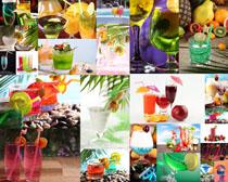 果子汁摄影高清图片