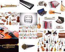 音乐器材摄影高清图片
