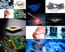 科技数码芯片摄影高清图片