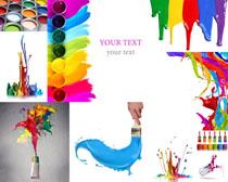 美丽的色彩油漆摄影高清图片