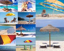海边沙滩风景拍摄高清图片