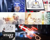 商务科技UP人物摄影高清图片