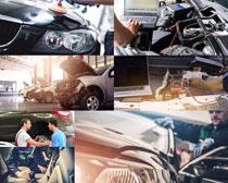 汽车机修摄影高清图片