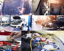 汽车检修保养摄影高清图片