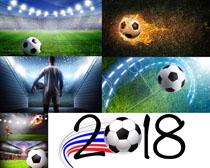 2018足球場地攝影高清圖片