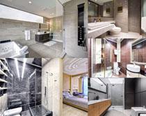 卫生间装修风格摄影高清图片