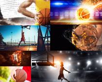 打篮球的运动男人摄影高清图片