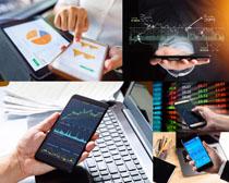 数码手机办公股票摄影高清图片